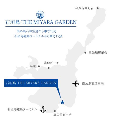 石垣島アクセスMAP