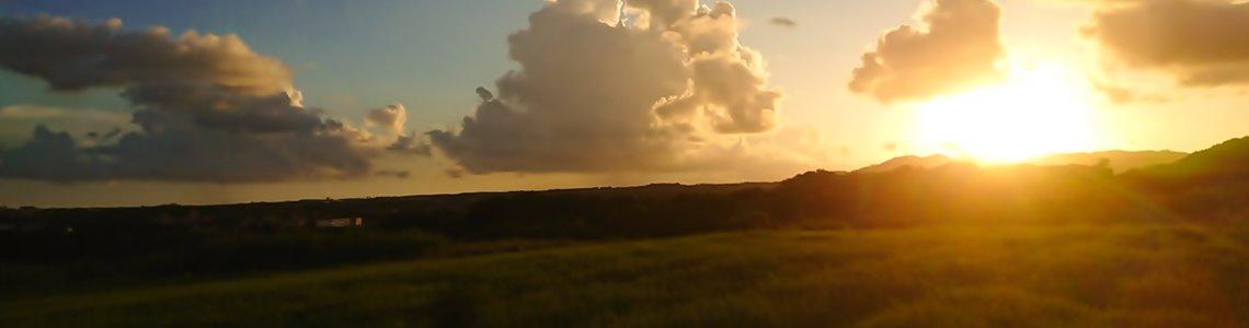 石垣島宮良の夕日